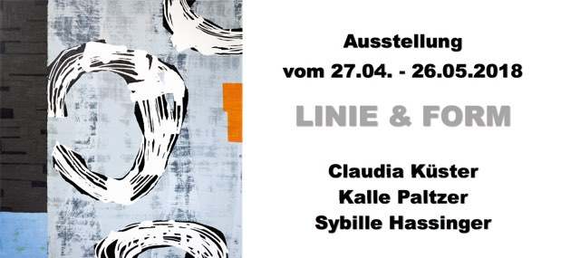 Vernissage: LINIE & FORM